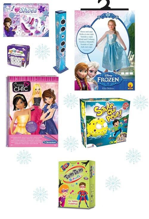 idée pour Noël : La liste des cadeaux de la fille de l'amoureux  6 ans