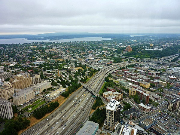 Jour 30 Seattle vue de Bank Tower 3