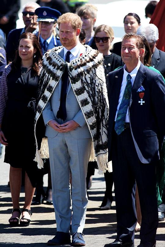Visite du peuple Maoris en N.Z.