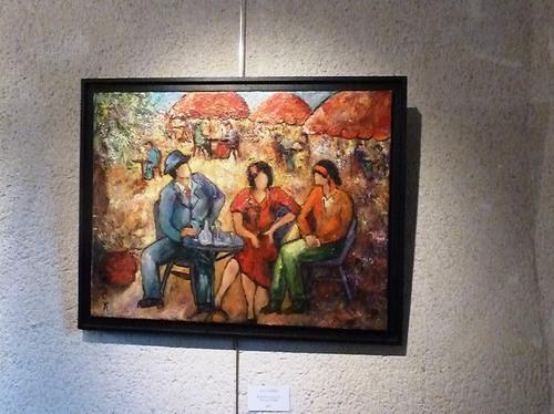 autres tableaux exposés à la Prébendale