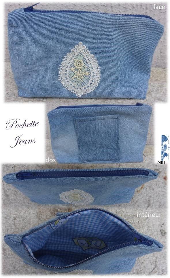"""Pochette """"Jeans"""" + Jeu"""