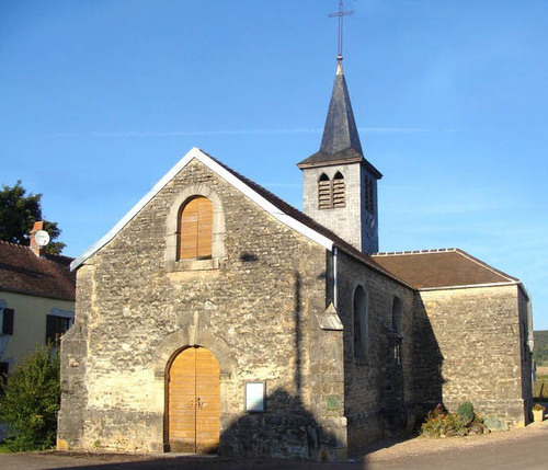 La chapelle Sainte Anne de Courcelles les Rangs
