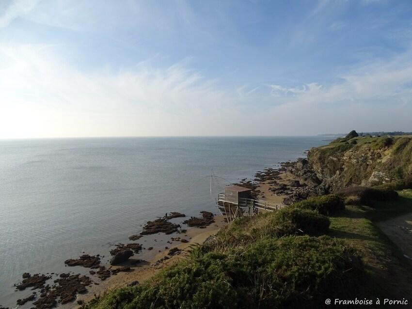 Pornic, balade littoral Fontaine et Monval