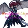 Erza armure aux ailes noires