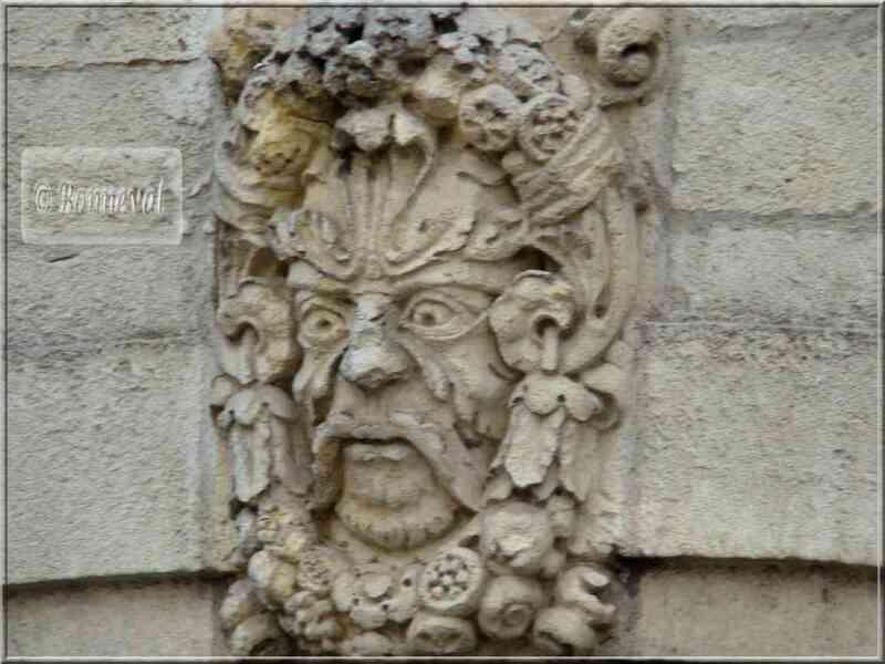 La Rochelle mascaron