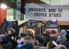 8 décembre : soirée de solidarité avec les réfugié-e-s syrien-ne-s