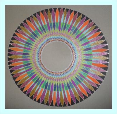 Blog de mimipalitaf :mimimickeydumont : mes mandalas au compas, mandala mimipalitaf