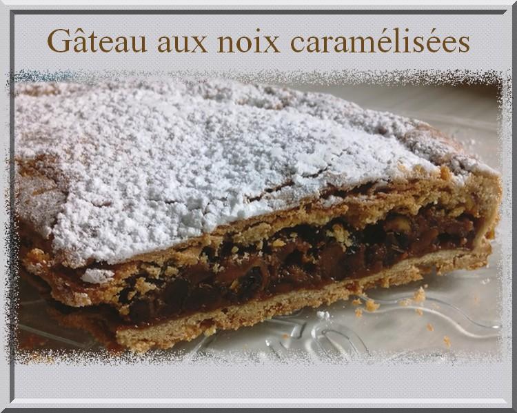 Gâteau aux noix caramélisées