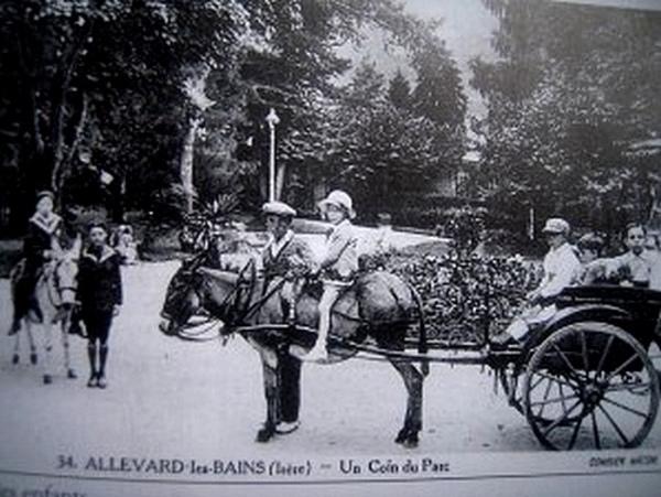 Images anciennes du parc Thermale