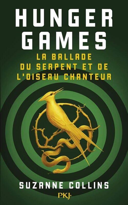 Couverture et résumé du préquel d'Hunger Games (Suzanne Collins) sortie le 20 mais