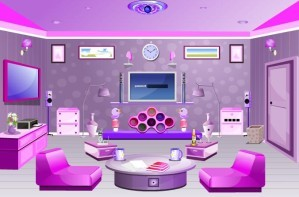 Nice pink room escape