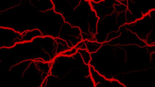 éclairs rouge