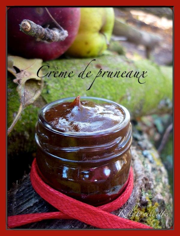 Crème de pruneaux au Pommeau de Normandie