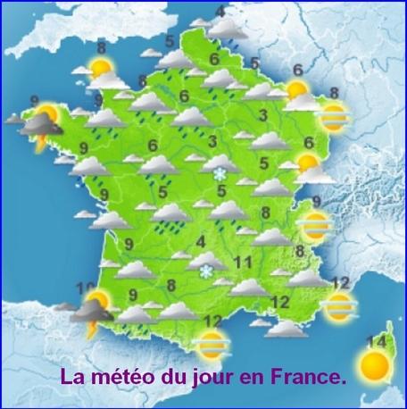 Météo pour la France