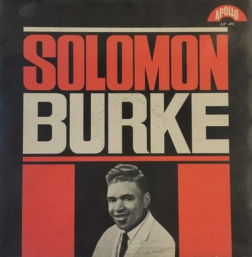"Solomon Burke : Album "" Solomon Burke "" Apollo Records ALP 498 [ US ]"