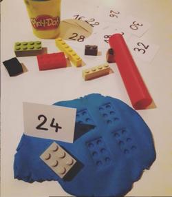 Des lego pour multiplier