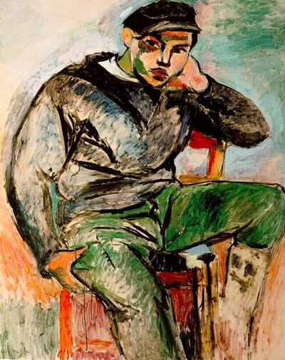 Matisse 16 /  1906-le jeune marin +++La gitane