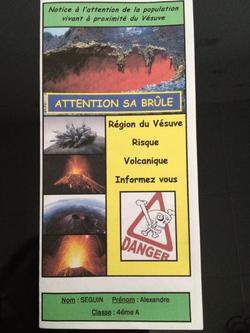 Les 4èmes font de la prévention sur les risques géologiques