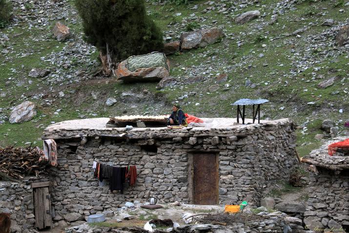 Villages d'été tadjiks