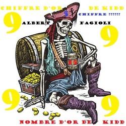 Le chiffre d'OR du capitaine Kidd, le nombre d'OR du capitaine Kidd et le chiffre ????.(Albert Fagioli)