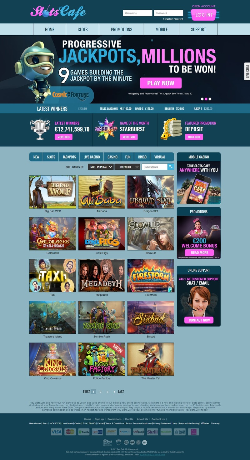 Play Slots Cafe and have your fun dished up to you in bite sized chunks in our exciting new online casino h_nL3PzF1Ym0MbMpkhaAWltZjls@800x1472