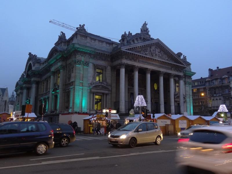 Bruxelles, la Bourse!