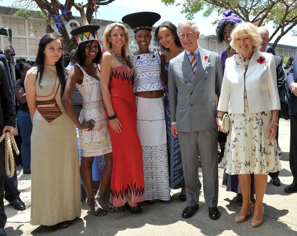 Charles et Camilla à Johannesbourg et à Soweto
