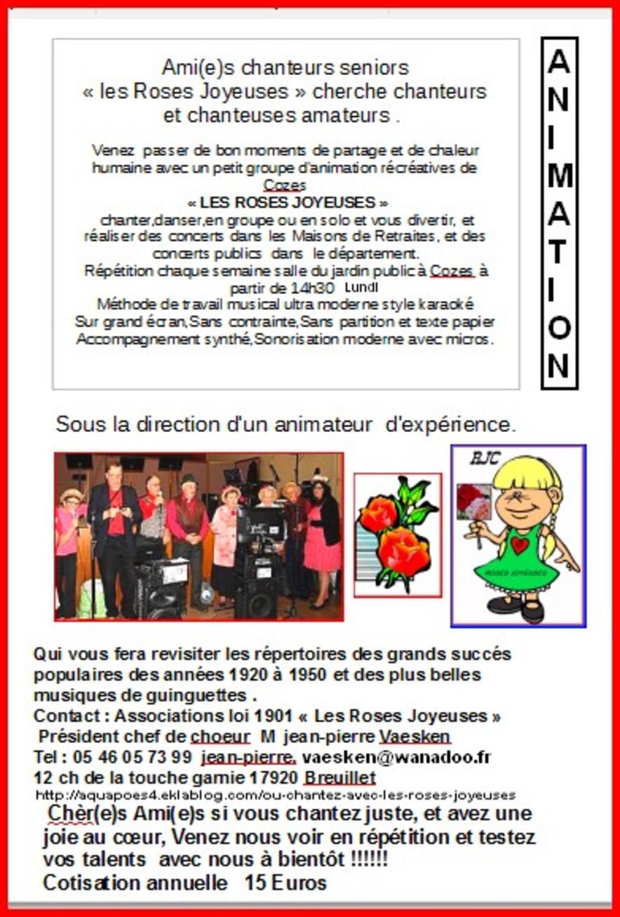 Réunion chorale Sorlut 2017