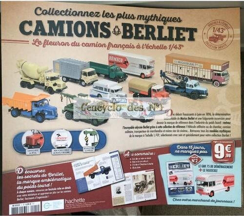 N° 1 Collectionnez les plus mythiques camions Berliet - Test