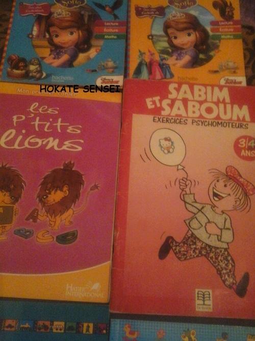Les manuels utilisés pour l'année