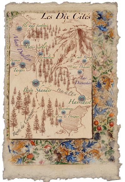 Carte des Dix Cités