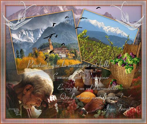 La montagne - Jean Ferrat