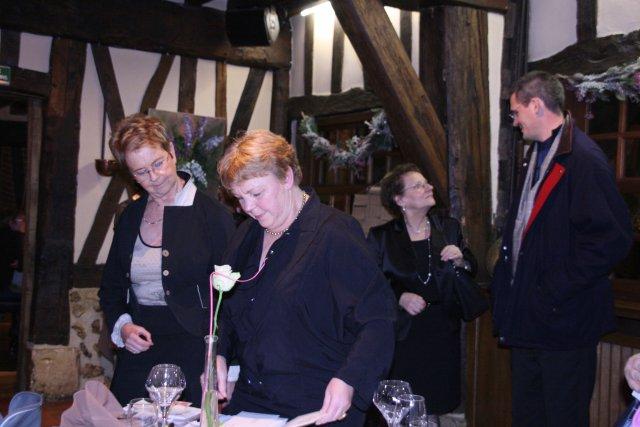 Samedi 20 décembre 2008, repas de Noël à la Taverne Alsacienne à Bonsecours