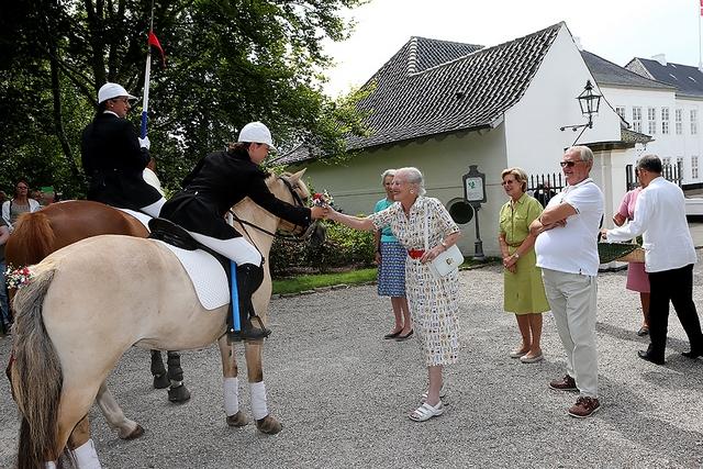 Ringrideroptog à Gråsten