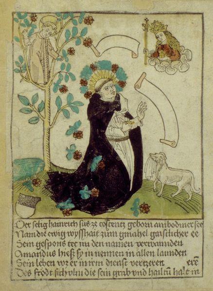 Bienheureux Henri Suso, Dominicain de Constance († 1366)