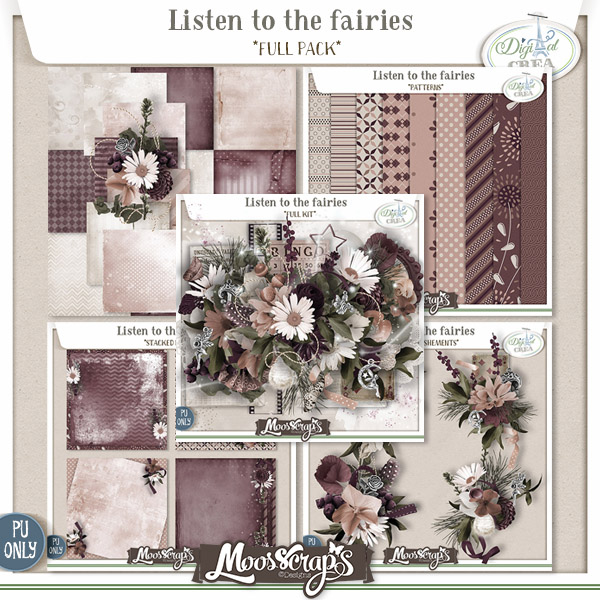 Listen to the fairies - full pack