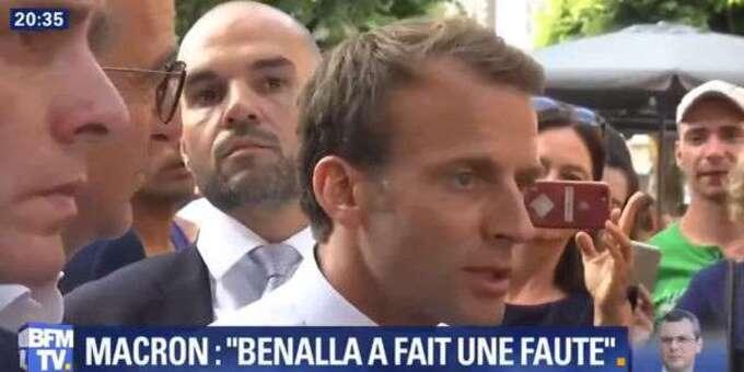 """Macron sur l'affaire Benalla : """"Je ne vais pas chercher des fusibles"""""""