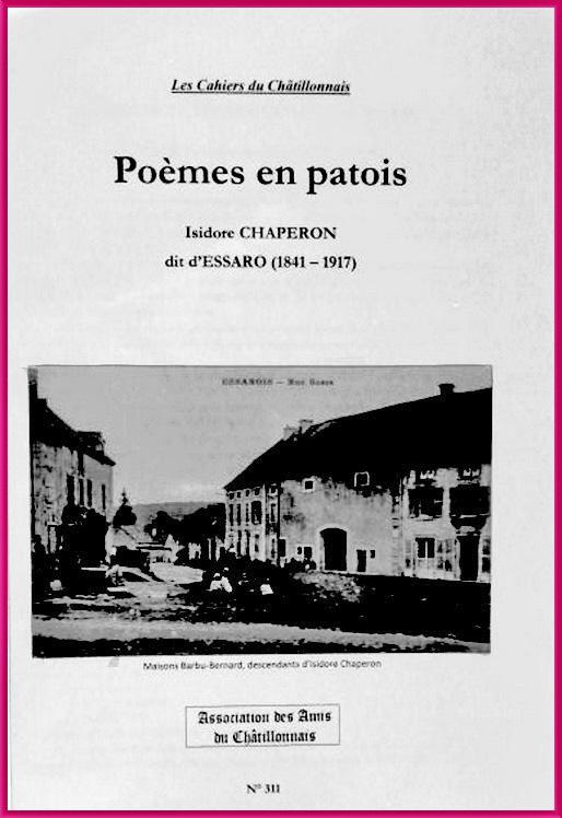 Un nouveau cahier des Amis du Châtillonnais est consacré à Essaro