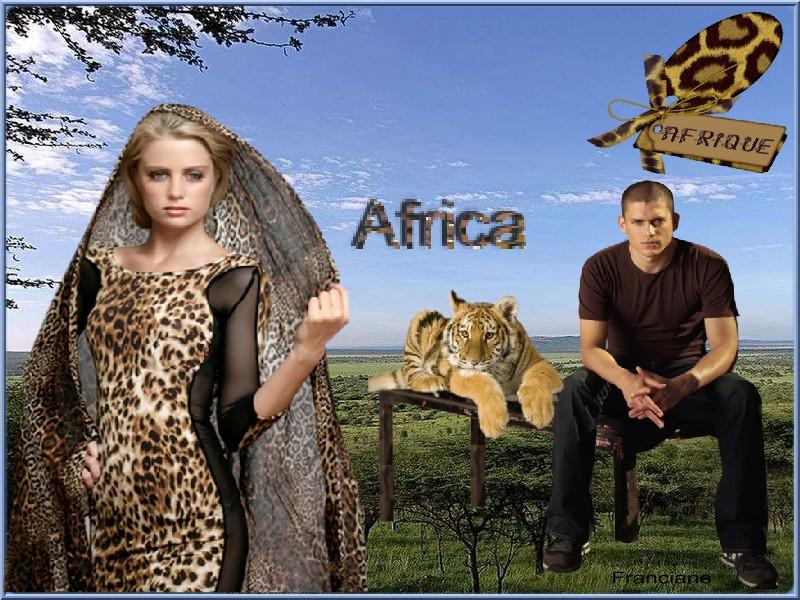 Défi : Africa pour ma gentille amie Manik , bonne semaine