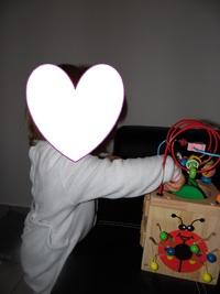 Super cube d'activité pour les petits