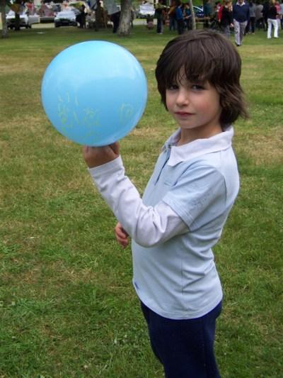 Blog de chipiron :Un chipiron dans les Landes, Mon ballon déco tête