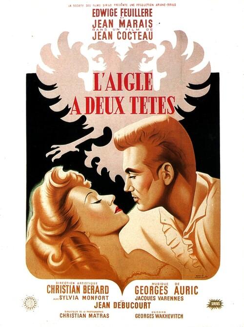 L'AIGLE A DEUX TETES - BOX OFFICE JEAN MARAIS 1948