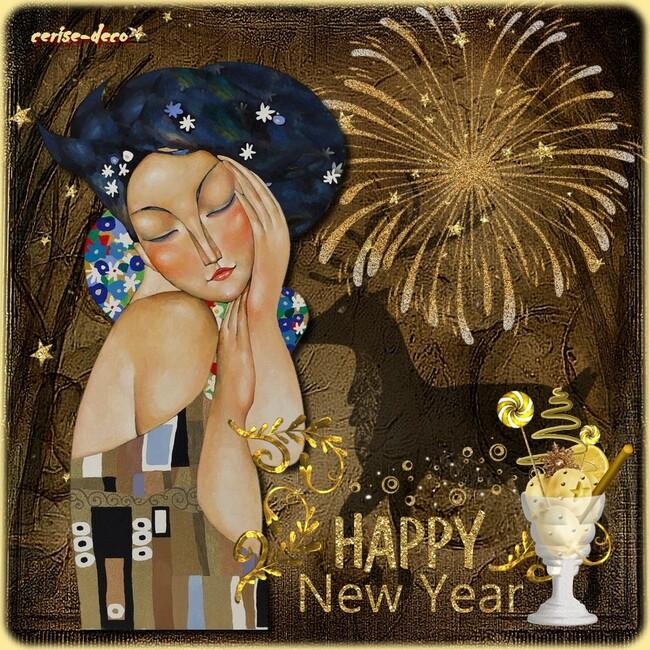 gifs meilleurs voeux , bonne année