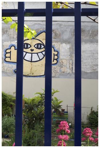 Derrière les barreaux…