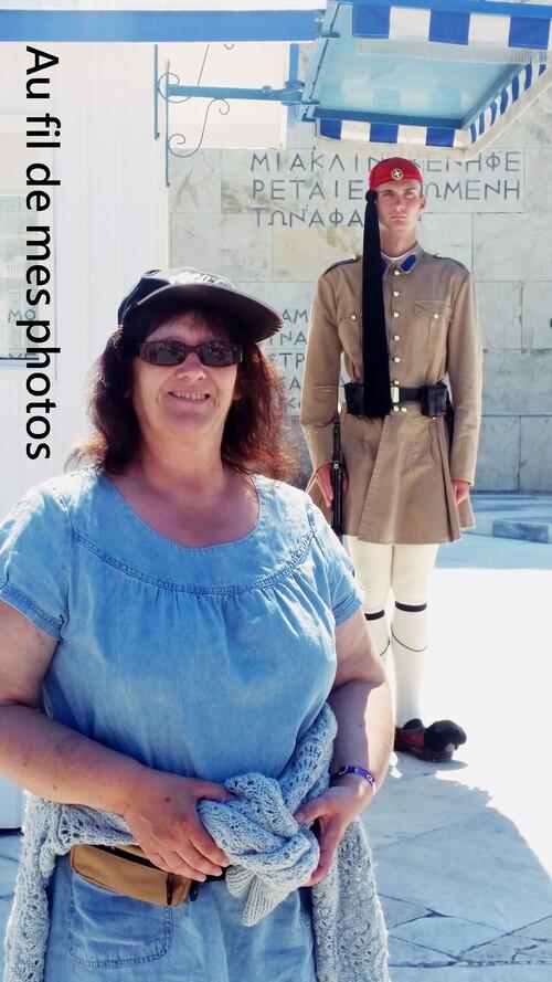Relève de la Garde à Athènes en Grèce