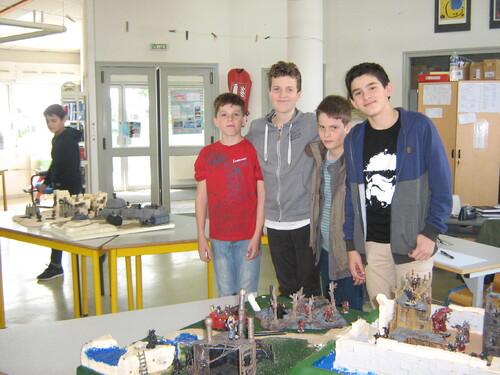 Exposition de miniatures au CDI