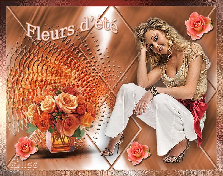 Fleurs d'été   de Auréliagraphics