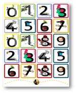 Ecrire les chiffres - Des chiffres illustrés