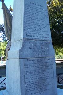 Monument de L'Aigle - Bayonne