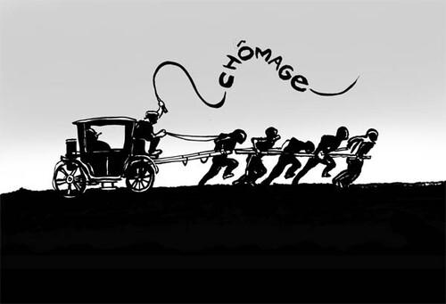 """""""Le café, l'association et le chômage..."""" (Solidarité Chômage Tarn)."""